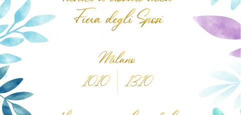 Lido Po alla Fiera degli Sposi a Milano